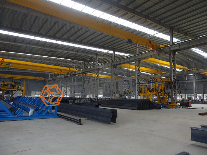三维钢结构1号厂房