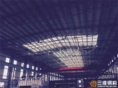 轻型钢结构工程--滨州市魏桥电解铝厂