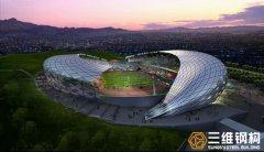 重型钢结构工程--布委索体育馆