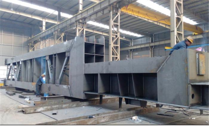 印度客户重钢结构加工