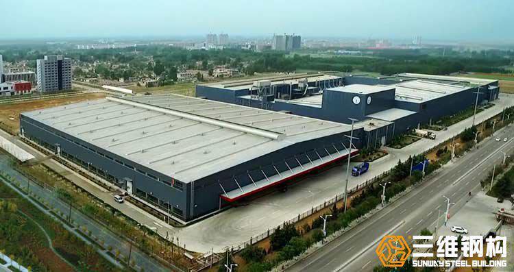 山东金鼎实业钢结构厂房工程