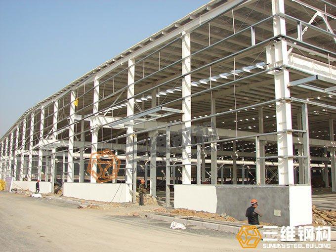 齐鲁工程钢结构厂房