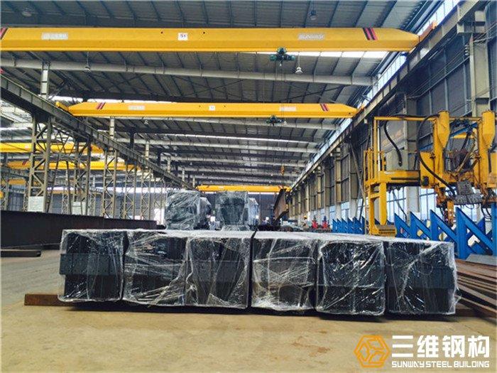 钢结构平台定制出口,钢结构加工厂-三维钢构