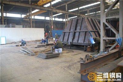 钢结构工程公司解析常见号料弯曲形式有哪些