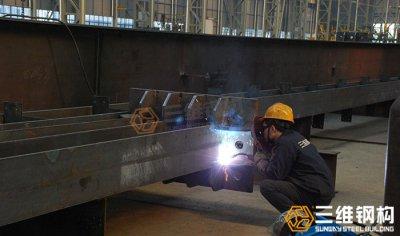 钢结构加工焊接过程中应注意以下事项