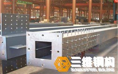 钢结构箱形柱焊接加工时应注意的事项