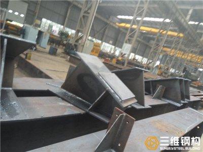 十字柱钢结构工厂化加工技术