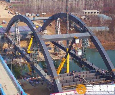 桥梁钢结构加工和安装技术